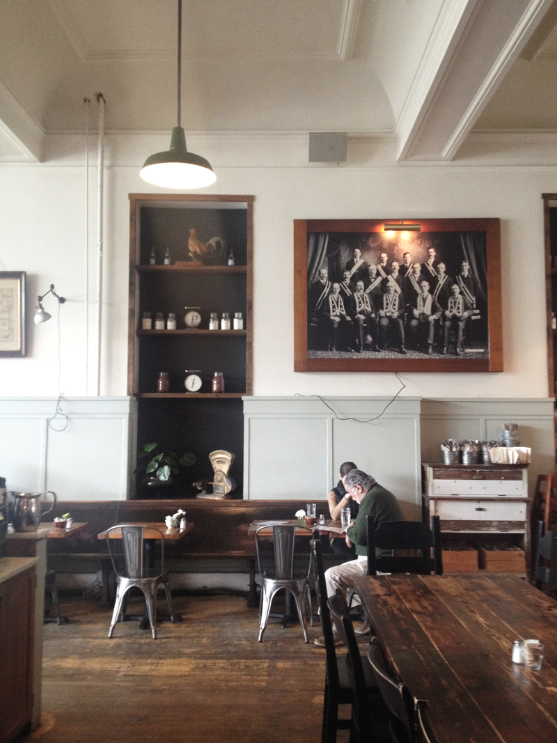 Seattle - Oddfellows Cafe