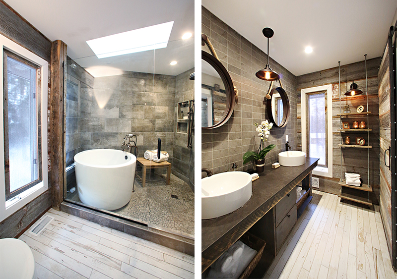 bath crashers_photo1 HGTV, DIY Network, Interior Design, Rustic Bathroom, Barnwood, Barnwood door