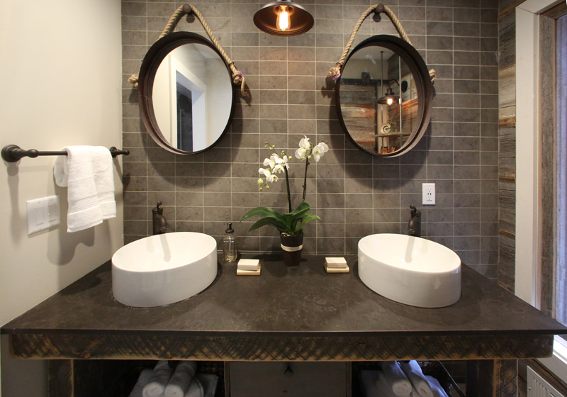 bath crashers_photo1 HGTV, DIY Network, Interior Design, Rustic Bathroom, Barnwood, Barnwood door