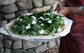 Pizza by the Pond at LoveTree Farmstead Cheese