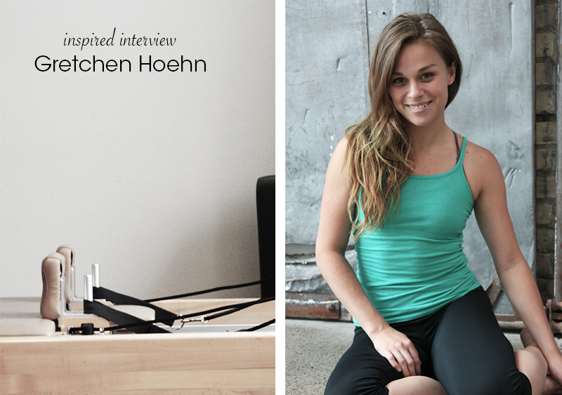 Inspired Interview // Pilates Teacher Gretchen Hoehn for Ella Frances