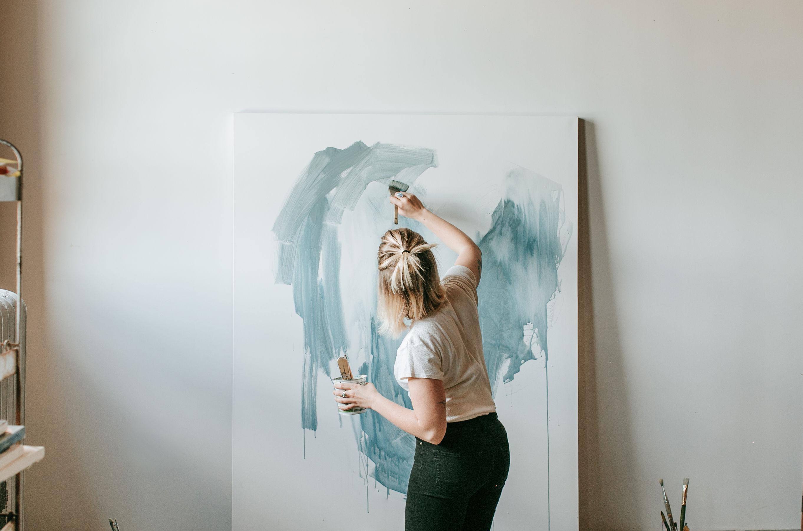 Inspired Interview // Artist Gina Gaetz